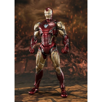Figurine Avengers Endgame S.H. Figuarts Iron Man Mk 85 Final Battle 16cm