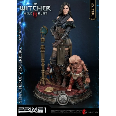 Statue Witcher 3 Wild Hunt Yennefer of Vengerberg Alternative Outfit Deluxe Version 51cm