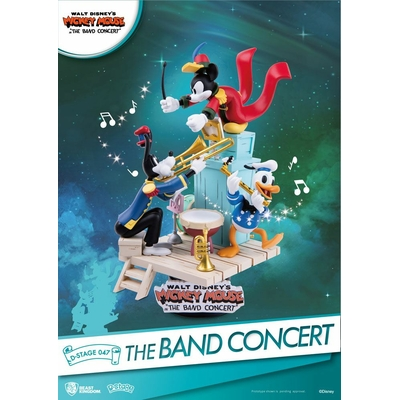Diorama Disney Mickey Mouse D-Stage The Band Concert 15cm