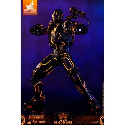 Figurine Iron Man 2 Movie Masterpiece Series Diecast Neon Tech War Machine Hot Toys Exclusive