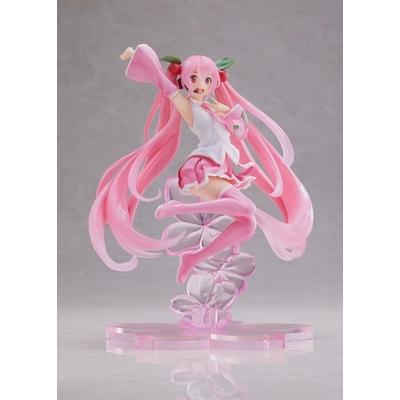 Statuette Vocaloid Hatsune Miku Sakura Miku A Jump Ver. 20cm