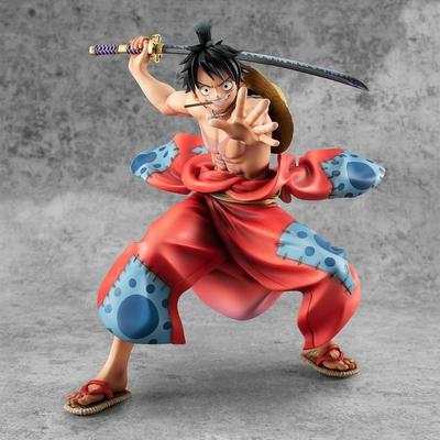 Statuette One Piece P.O.P. Warriors Alliance Luffy Taro 17cm