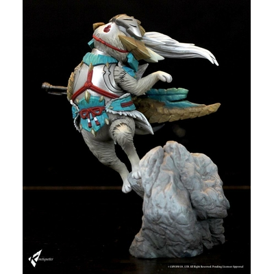 Diorama Monster Hunter Zinogre Palico