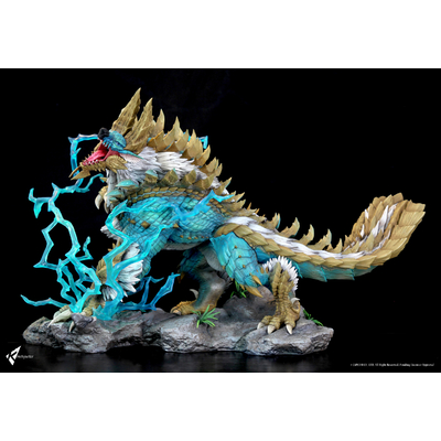 Diorama Monster Hunter The Thunder Wolf Wyvern 56cm