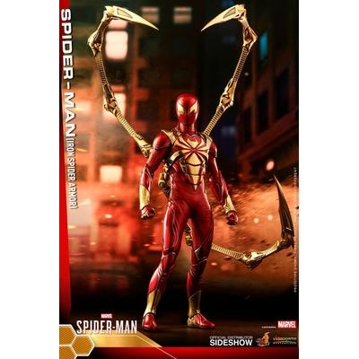 Figurine Marvel's Spider-Man Video Game Masterpiece Spider-Man Iron Spider Armor 30cm