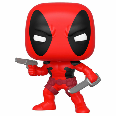 Figurine Marvel 80th Funko POP! Deadpool First Appearance 9cm
