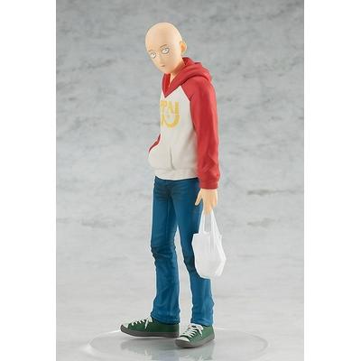 Statuette One Punch Man Pop Up Parade Saitama Oppai Hoodie Ver. 17cm