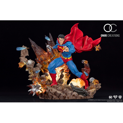 Statue Superman For Tomorrow Oniri Creations