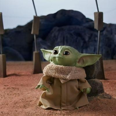 Peluche parlant Star Wars Episode VIII The Child - Baby Yoda 19cm