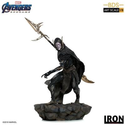 Statuette Avengers Endgame BDS Art Scale Corvus Glaive Black Order 27cm