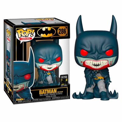Figurine Batman 80th Funko POP! Red Rain Batman (1991) 9cm