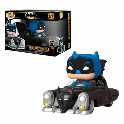 Figurine Batman 80th POP! Rides 1950 Batmobile 15cm