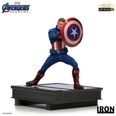 Statuette Avengers Endgame BDS Art Scale Captain America 2023 - 19cm