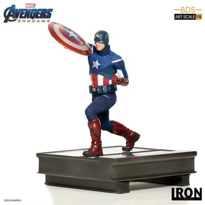 Statuette Avengers Endgame BDS Art Scale Captain America 21cm