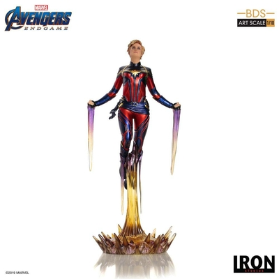 Statuette Avengers Endgame BDS Art Scale Captain Marvel 26cm