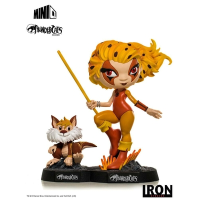 Figurine Thundercats Mini Co. Cheetara & Snarf 13cm