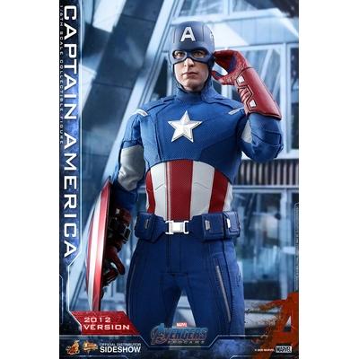 Figurine Avengers Endgame Movie Masterpiece Captain America 2012 Version 30cm