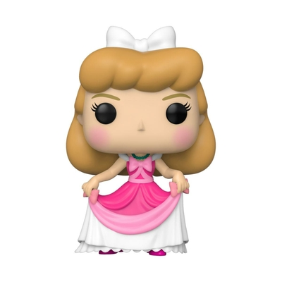 Figurine Cendrillon Funko POP! Disney Cinderella Pink Dress 9cm
