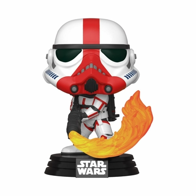 Figurine Star Wars The Mandalorian Funko POP! Incinerator Stormtrooper 9cm