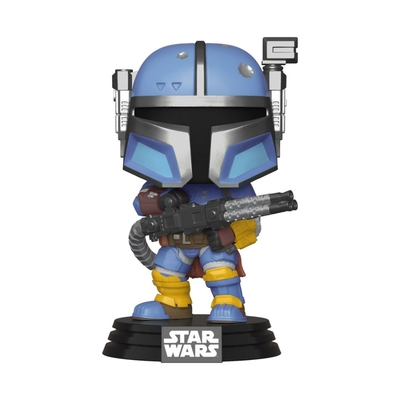 Figurine Star Wars The Mandalorian Funko POP! Heavy Infantry Mandaloria 9cm