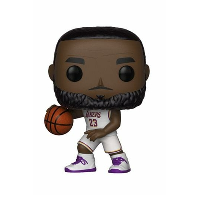 Figurine NBA Funko POP! LeBron James White Uniform Lakers 9cm