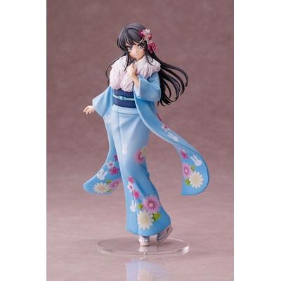 Statuette Rascal Does Not Dream of Bunny Girl Senpai Mai Sakurajima Kimono Ver. 22cm