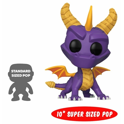 Figurine Spyro the Dragon Super Sized Funko POP! Spyro 25cm