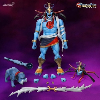 Pack 2 figurines Thundercats Wave 2 Ultimates Mumm-Ra & Ma-Mutt 5-18cm