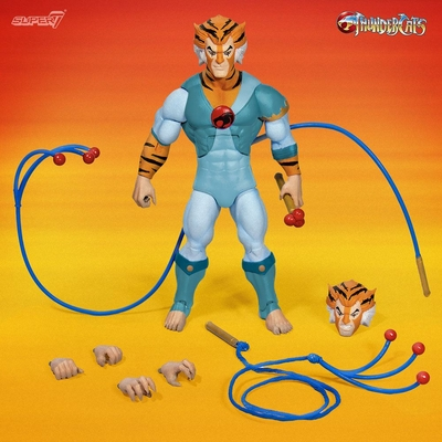 Figurine Thundercats Wave 2 Ultimates Tygra The Scientist Warrior 18cm