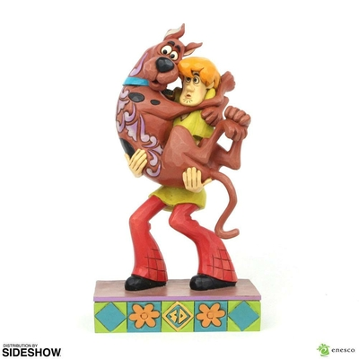 Statuette Scooby-Doo Shaggy Holding Scooby-Doo 23cm