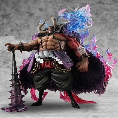 Statuette One Piece Portrait Of Pirates WA-MAXIMUM Kaido the Beast 38cm