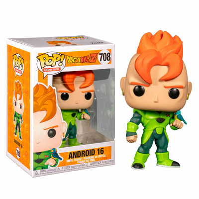 Figurine Dragon Ball Z Funko POP! Android 16 - 9cm