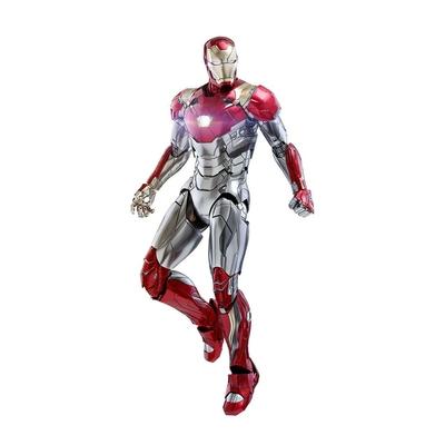 Figurine Spider-Man Homecoming Movie Masterpiece Diecast Iron Man Mark XLVII Reissue 32cm