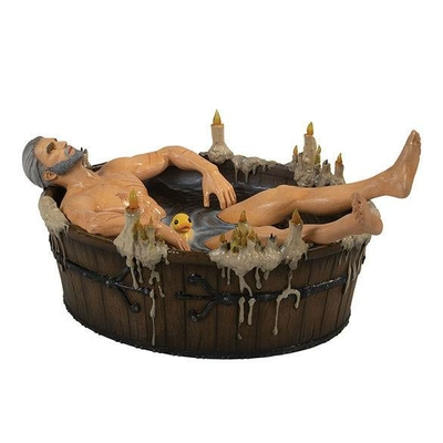 Statuette The Witcher 3 Wild Hunt Geralt in the Bath 9cm