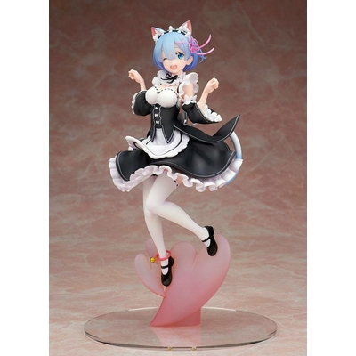 Statuette Re:ZERO Starting Life in Another World Rem Cat Ear Ver. 24cm