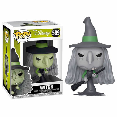 Figurine L´étrange Noël de Mr. Jack Funko POP! Witch 9cm