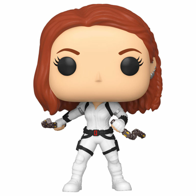 Figurine Black Widow Funko POP! Marvel Black Widow White Suit 9cm