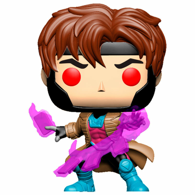 Figurine Marvel Comics Funko POP! Bobble Head Gambit with Cards 9cm