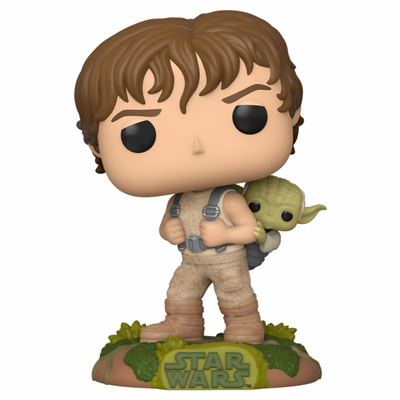 Figurine Star Wars Funko POP! Training Luke with Yoda 9cm