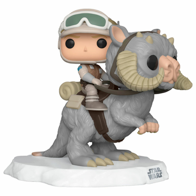 Figurine Star Wars Funko POP! Deluxe Luke on Taun Taun 9cm