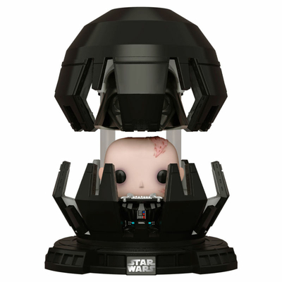 Figurine Star Wars Funko POP! Deluxe Darth Vader in Meditation Chamber 9cm