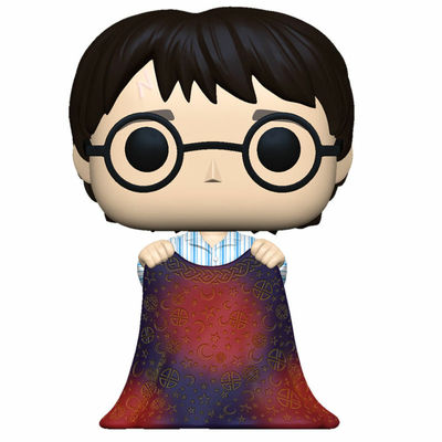 Figurine Harry Potter Funko POP! Harry with Invisibility Cloak 9cm