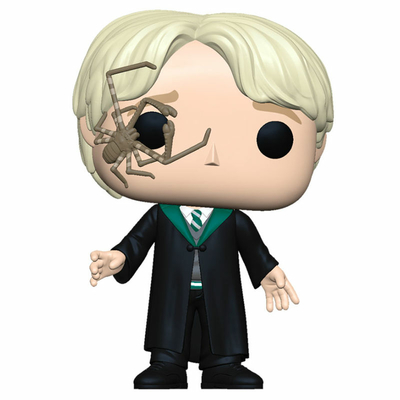 Figurine Harry Potter Funko POP! Malfoy with Whip Spider 9cm