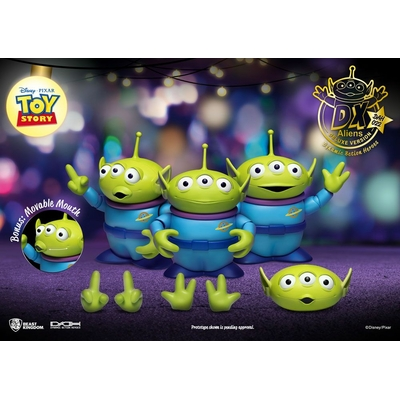 Pack 3 figurines Toy Story Dynamic Action Heroes Aliens DX Ver. 12cm