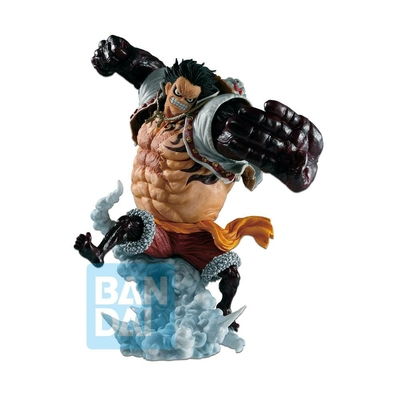 Statuette One Piece Ichibansho Luffy Gear 4 Boundman Battle Memories 21cm