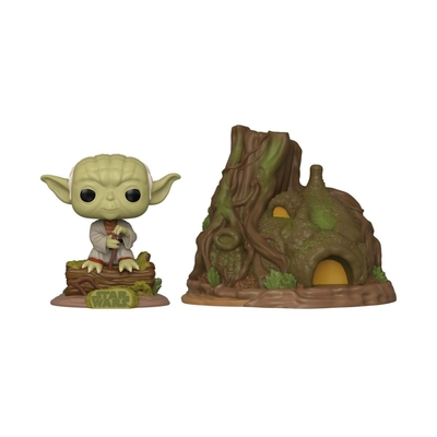 Figurine Star Wars Funko POP! Yoda's Hut Empire Strikes Back 40th Anniversary 9cm