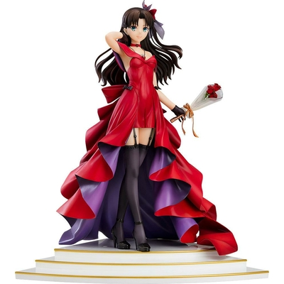 Statuette Fate Stay Night Rin Tohsaka 15th Celebration Dress Ver. 25cm