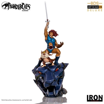 Statuette Cosmocats BDS Art Scale Lion-O & Snarf Deluxe 43cm