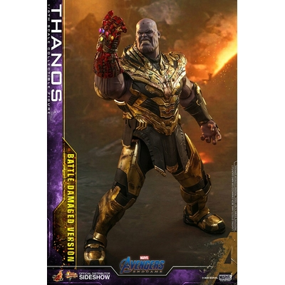Figurine Avengers Endgame Movie Masterpiece Thanos Battle Damaged Version 42cm