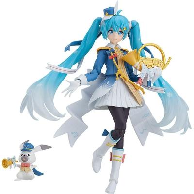 Figurine Figma Character Vocal Series 01 Hatsune Miku Snow Miku Snow Parade Ver. 13cm